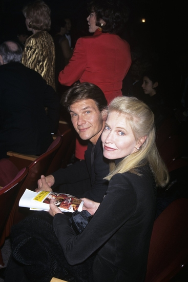 Patrick Swayze and Lisa Niemi April 29, 1996
