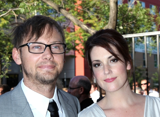 Jimmi Simpson and Melanie Lynskey