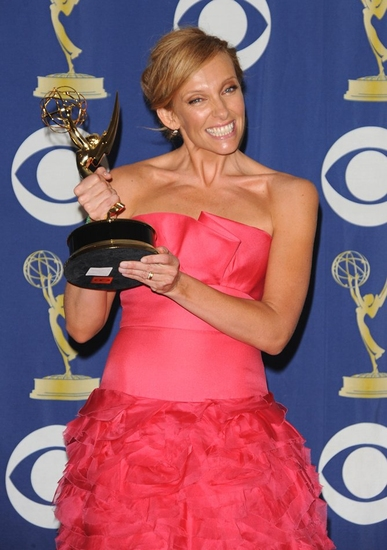 Toni Collette at 2009 Emmy Awards - The Winners Press Room!