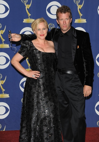 Patricia Arquette and Thomas Jane