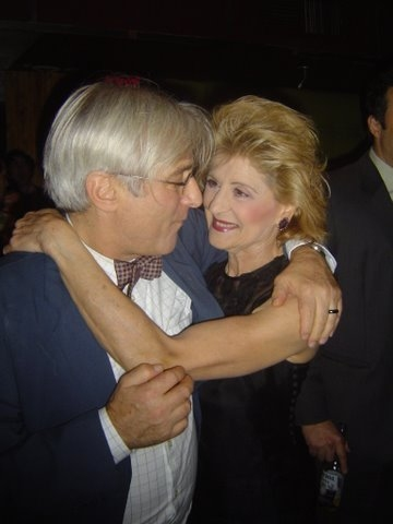 Joun Gould Rubin with Concetta Tomei
