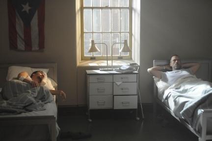 Lin-Manuel Miranda and Hugh Laurie
