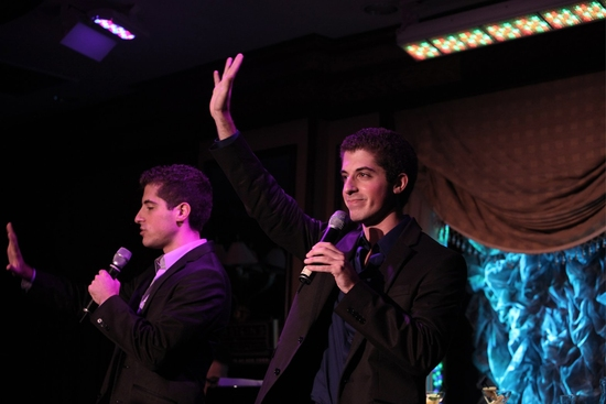 Photo Coverage: Will and Anthony Nunziata Feinstein's at the Loews Regency Debut