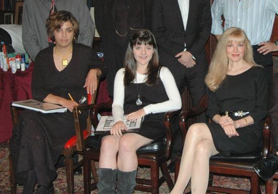 Tanya Elder, Madeleine Martin, and Diane Stillwell Weinberg