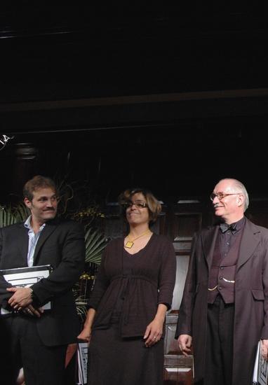 Marc Kudisch, Tanya Elder and Simon Jones