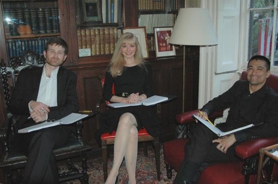 Simon Kendall, Diane Stillwell Weinberg, and Ariel Estrada