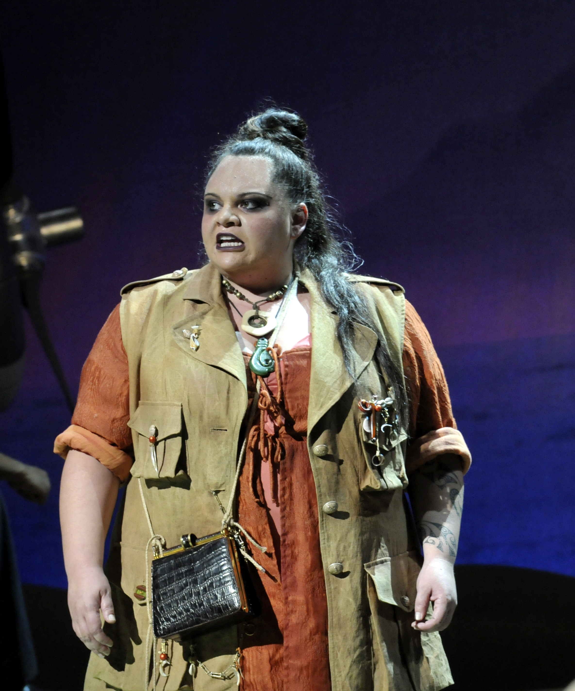 Bloody Mary played by Keala Settle - photo by Peter Coombs