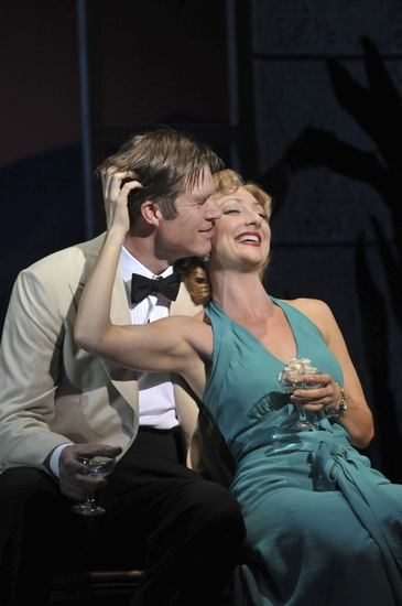 Rod Gilfry as Emile de Becque and Carmen Cusack as Ensign Nellie Forbush Photo