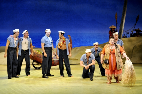 who played bloody mary in south pacific