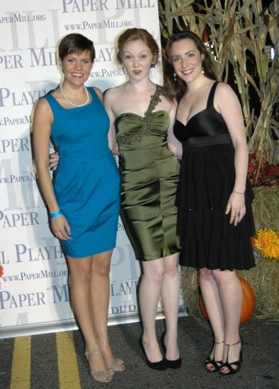 Lizzie Klemperer, Caroline Innerbichler and Jessica Hershberg