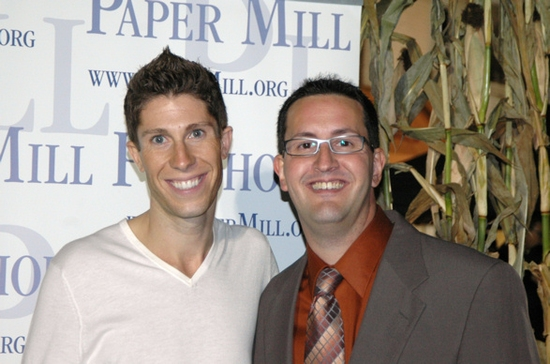 Christ Haught and Shayne A. Miller (Paper Mill Playhouse Press Representative)