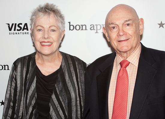 Lynn Redgrave and John Clark