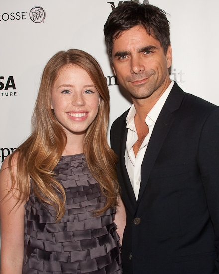 Allie Trimm and John Stamos