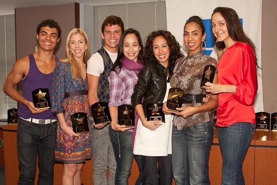 Yurel Echezarreta, Marina Lazzaretto, Chase Madigan, Yanira Marin, Kat Nejat, Mileyka Mateo and Jennifer Sanchez