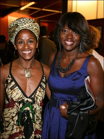 Bahni Turpin and Viola Davis