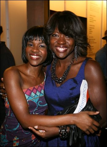 Edwina Findley and Viola Davis