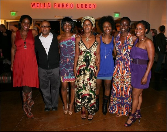 Michael Hyatt, Robert O'Hara, Edwina Findley, Bahni Turpin, Miriam F. Glover, Danai Gurira and Kelly M. Jenrette