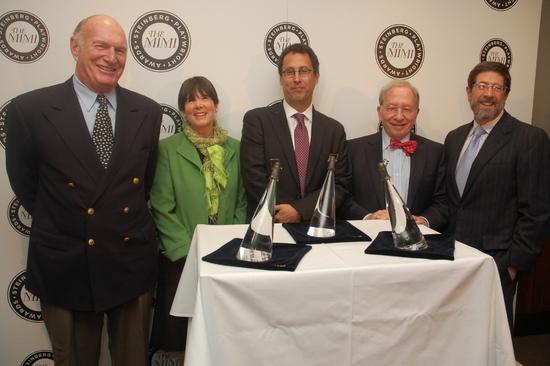 Seth Weingarten, Carole Krumland, Tony Kushner, William Zabel, and James D. Steinberg