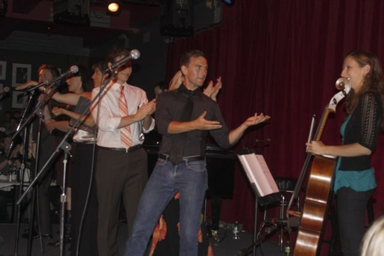 Photo Coverage: Burkell and Paul Loesel's 'Sorta Love Songs' At Birdland