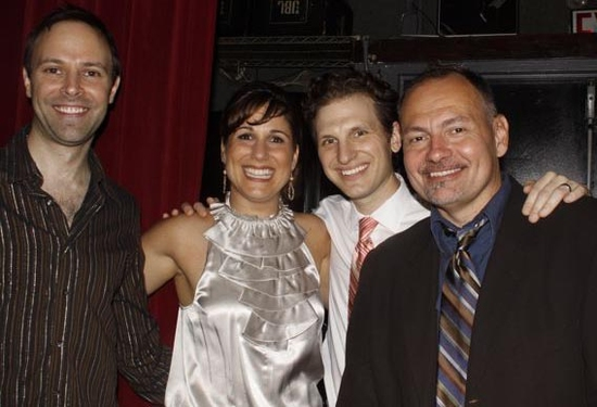 Paul Loesel, Stephanie J. Block, Sebastian Arcelus and Scott Burkell