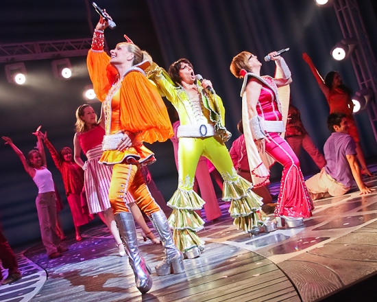 Photo Coverage: Beth Leavel and the New MAMMA MIA! Cast Take A Bow!