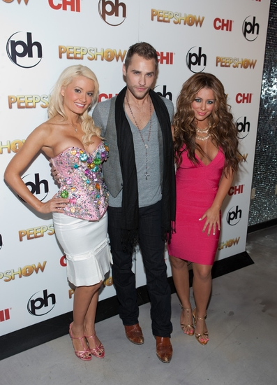 Holly Madison, Josh Strickland and Aubrey O'Day