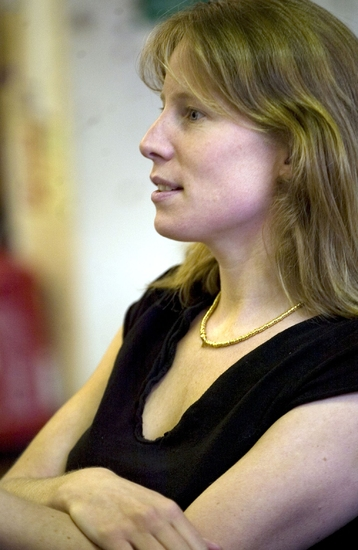 Thea Sharrock at The Almeida Theatre's Rehearsal of MRS. KLEIN