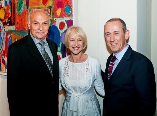 Michael Kahn, Helen Mirren, Nicholas Hytner