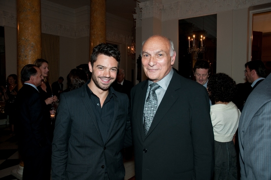 Dominic Cooper and Michael Kahn at Dame Helen Mirren as PHEDRE In DC