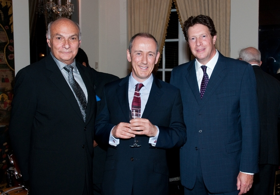 Michael Kahn, Nicholas Hytner, Sir Nigel Sheinwald