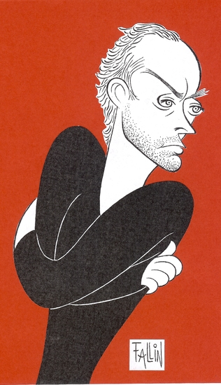 BWW SPECIAL FEATURE: Ken Fallin Illustrates - HAMLET With Jude Law