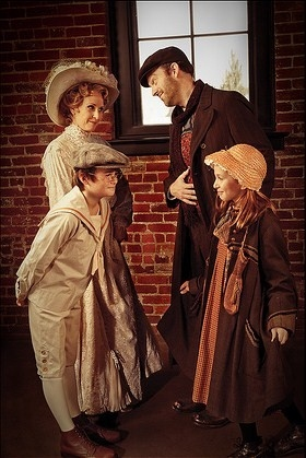 Susannah Mars, Leif Norby, Alex Thede, and Anna Bishop at Portland Center Stage's RAGTIME Dress Rehearsal