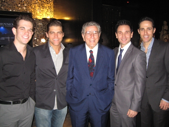 Andrew Frace, Deven May, Tony Bennett, Travis Cloer and Jeff Leibow