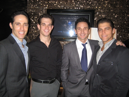 Jeff Leibow, Andrew Frace, Travis Cloer and Deven May