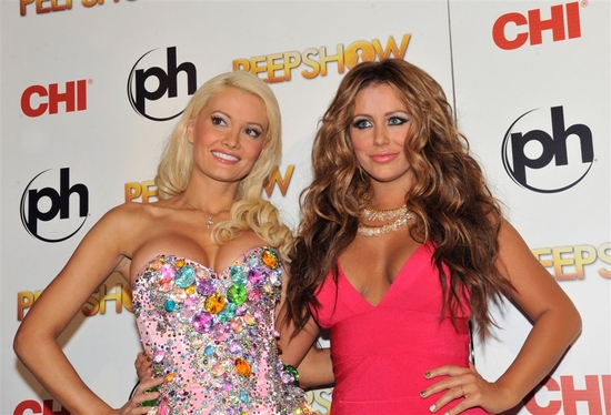 Holly Madison and Aubrey O'Day
