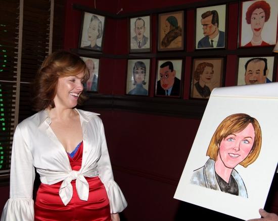 Photos: Tony Winner Alice Ripley's Caricature Unveiled At Sardi's