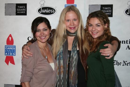 Jessica Leccia, Caitlin Van Zandt and Bonnie Dennison