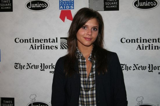 Alexandra Chando at Broadway Flea Market 2009 - Press Room