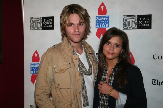 Van Hansis and Alexandra Chando