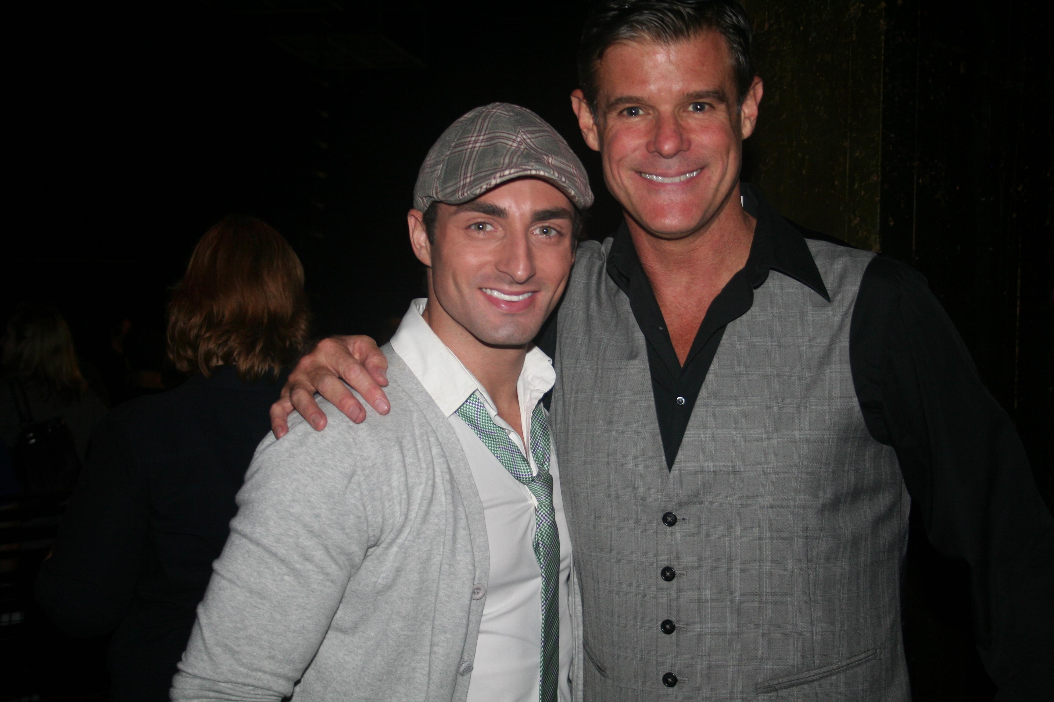 Celebrity Table Co Hosts; Scott Nevins And Michael Lee Scott