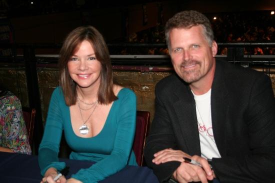 Bobbie Eakes and Robert Newman