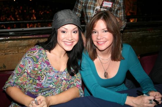 Diana DeGarmo and Bobbie Eakes
