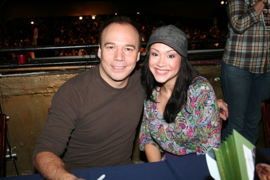 Danny Berstein and Diana DeGarmo