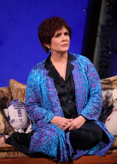 Photo Flash: Carrie Fisher's WISHFUL DRINKING At Studio 54