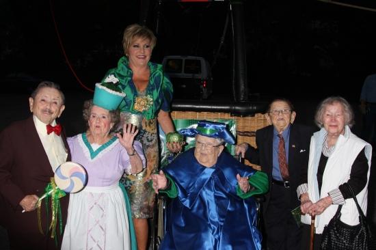 Lorna Luft, Jerry Maren, Margaret Pellegrini, Meinhardt Raabe, Karl Slover and Ruth R Photo