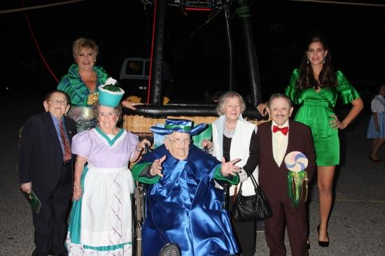 Lorna Luft, Jerry Maren, Margaret Pellegrini, Meinhardt Raabe, Ruth Robinson Duccini, Photo