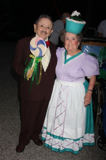 Jerry Maren and Margaret Pellegrini Photo