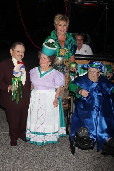 Lorna Luft, Jerry Maren, Margaret Pellegrini, Meinhardt Raabe Photo