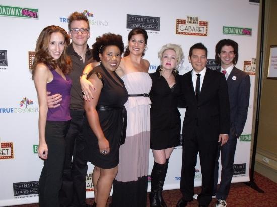 Allison Seidner (Cello), Gavin Creel, Melinda Doolittle, Stephanie J. Block, Cyndi Lauper, Michael Feinstein and Adam Wachter (Piano)