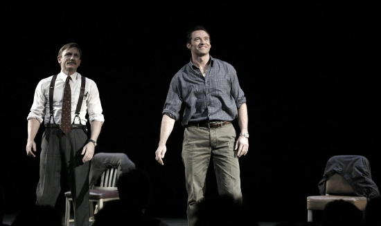 Photo Coverage: A STEADY RAIN Starring Jackman & Craig Opens On Broadway - The Curtain Call